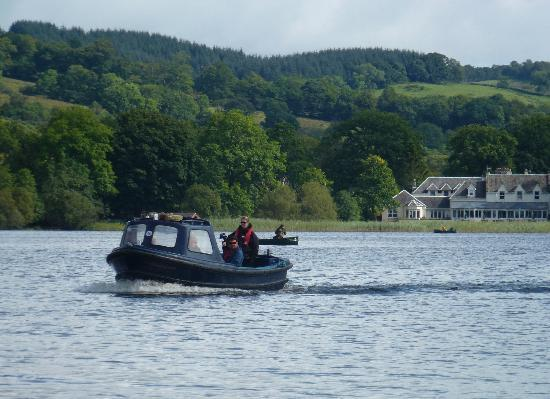 Lake of Menteith: Boat over to Inchmahome Priory