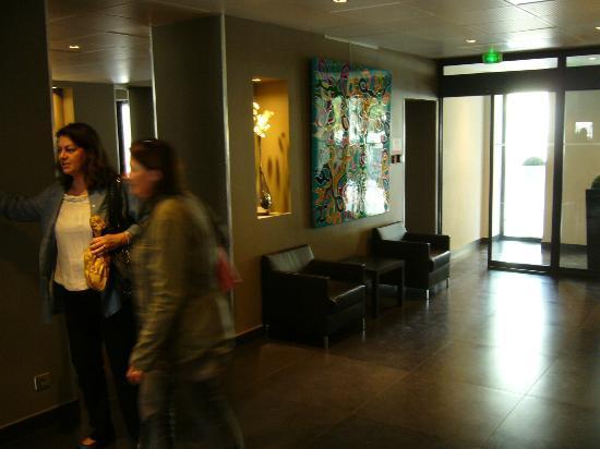 Hôtel de France : Hall d'entrée