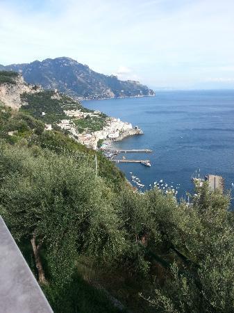 View over Amalfi