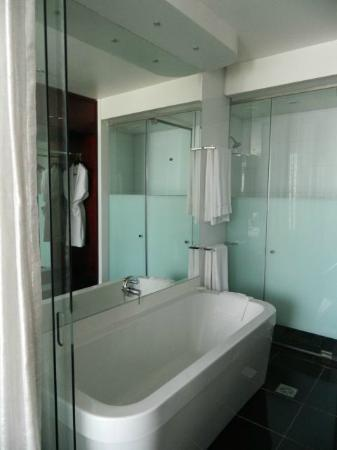 DaVinci Hotel and Suites: Bath
