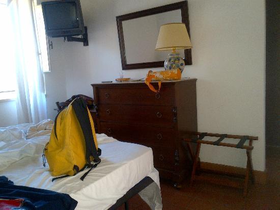 Masseria degli Ulivi: Particolare di una stanza