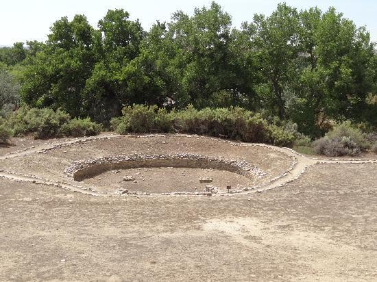 Salmon Ruins: Große Kiva
