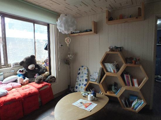 Guesthouse Beehive : Living room