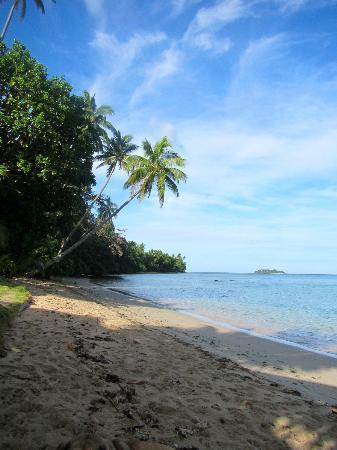 Lawaki Beach House: View from beach