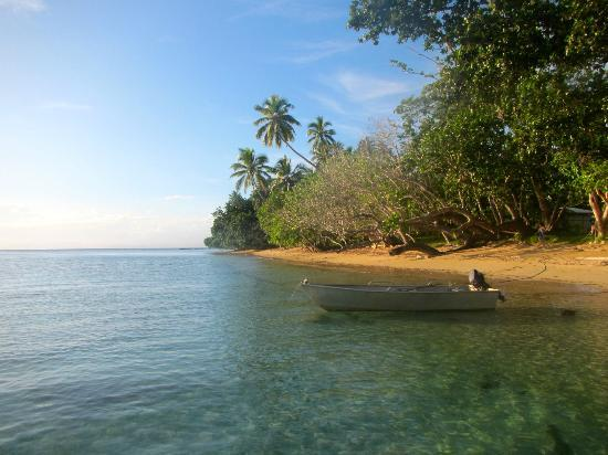 Lawaki Beach House: view