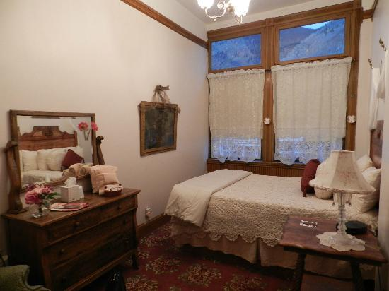 Teller House: Chambre