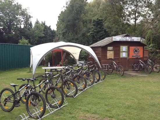 Epping, UK: Cycle Hire Centre 