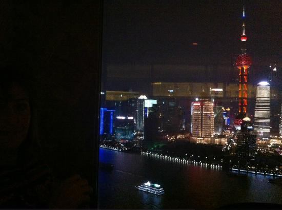 Les Suites Orient, Bund Shanghai : The view from the top floor