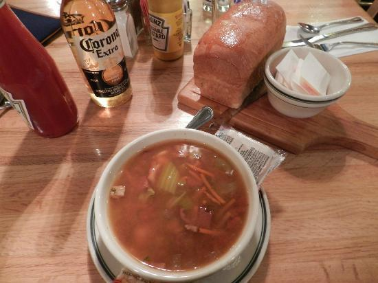 Brown Bear Cafe : Soupe