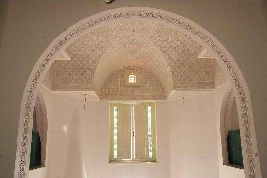 La Maison Salma : Dar Salma. Le palfond du living