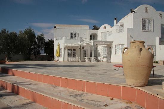 La Maison Salma : Dar Salma. Vue partielle de la maison