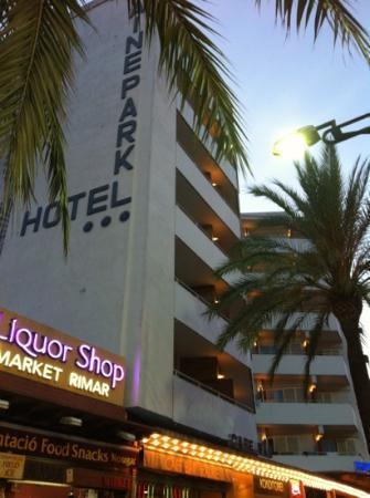 Xaine Park Hotel: esterno hotel