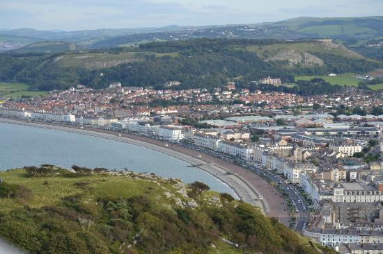 Llandudno, UK: stop here to change over