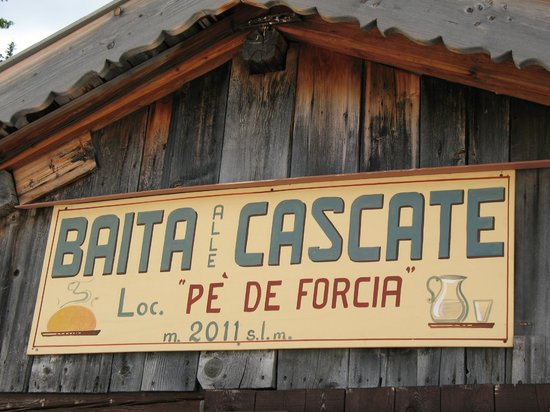 Rifugio Baita alle Cascate: La baita