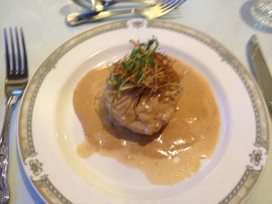 Glenspean Lodge Hotel: Haggis starter, yummy!