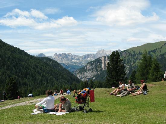 Rifugio Baita alle Cascate: Panorama