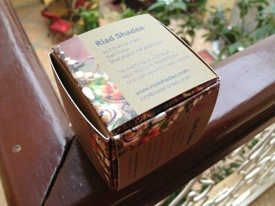 Riad Shaden: Fun with business cards