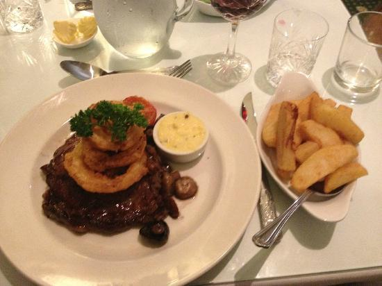 BEST WESTERN Glenspean Lodge: Another lovely steak dinner