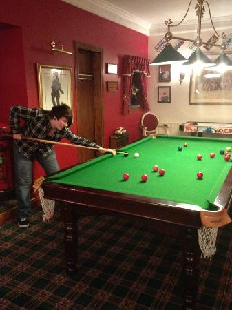 Glenspean Lodge Hotel: Billiards room