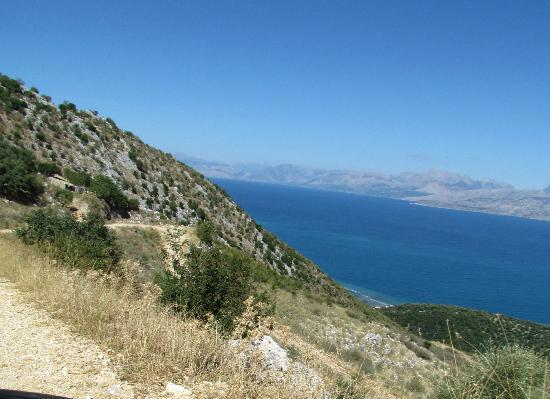 Albania from Pantocrator - Picture of Mount Pantokrator ...