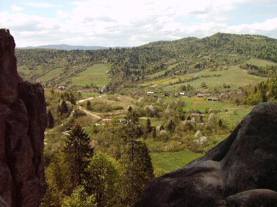 Carpathian Meadows (Karpats'ki Polonyny) Hotel: Karpats'ki Polonyny - Spring view