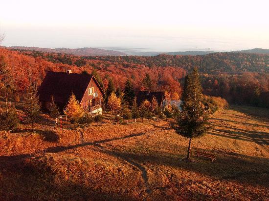 Carpathian Meadows (Karpats'ki Polonyny) Hotel: Karpats'ki Polonyny - Autumn view