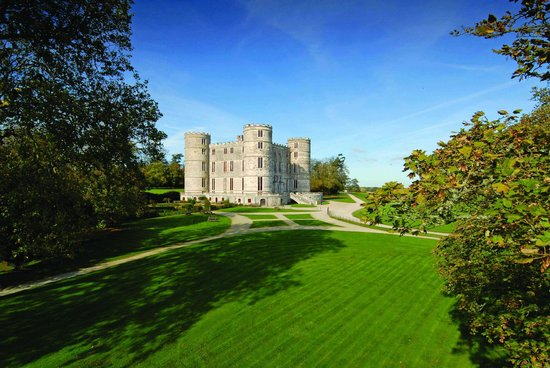 East Lulworth, UK : Lulworth Castle, Dorset