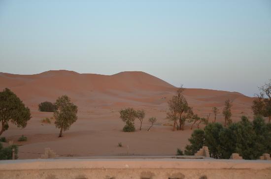 Les Portes du Desert: Aussicht vom Hoteldach