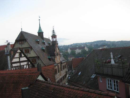 Hotel Hospiz Tubingen : View from room - Hospiz