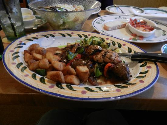 olive garden mixed grill - Olive Garden Vestal