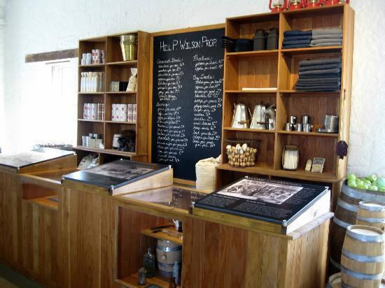 Fort Hays State Historic Site: General Store at Fort Hays