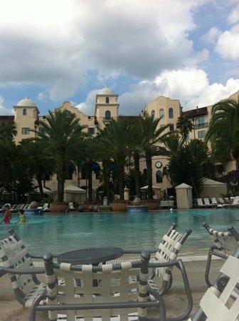 Hard Rock Hotel at Universal Orlando:                                                       Beach / Pool Side