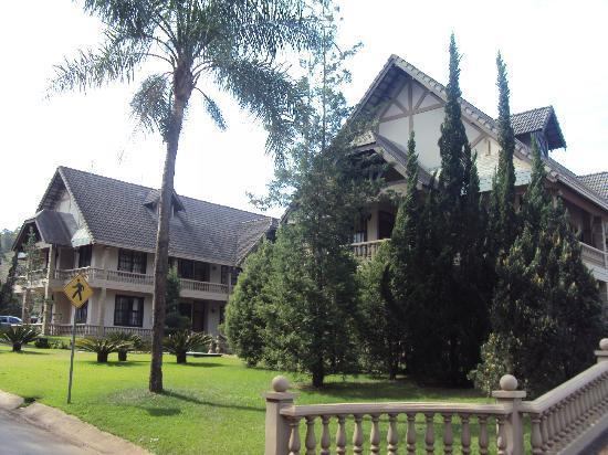 Termas de Jurema Resort Hotel: Vista do hotel