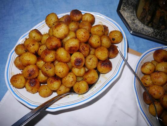 Musée de Mannerheim : Frische Bratkartoffeln zum Hauptgericht