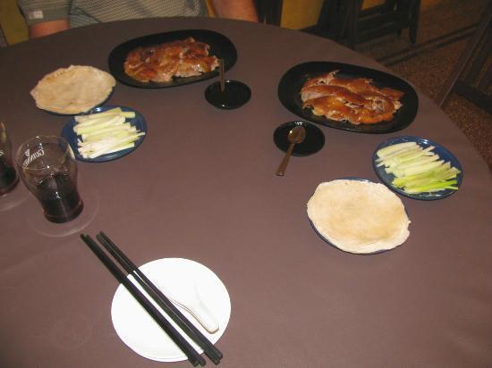 Moon Bell Restaurant: Peking Duck