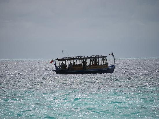 Dhevanafushi Maldives Luxury Resort Managed by AccorHotels: sunset fishing