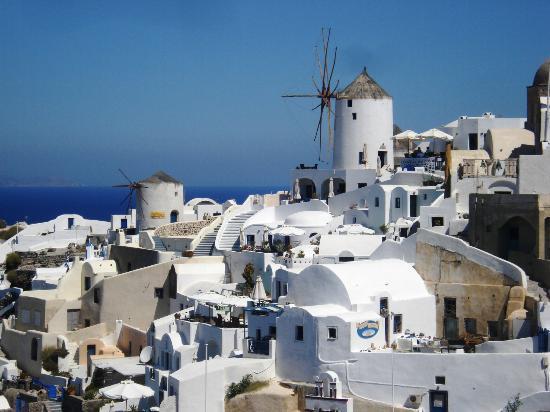 ซานโตรีนี, กรีซ: santorini oia