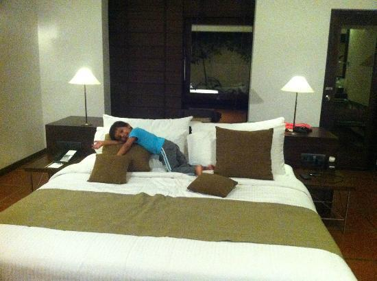 Jetwing Lagoon : comfortable beds indeed