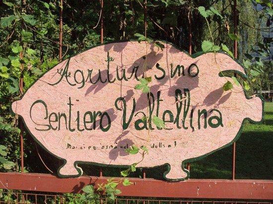 Agriturismo Sentiero Valtellina : ingresso
