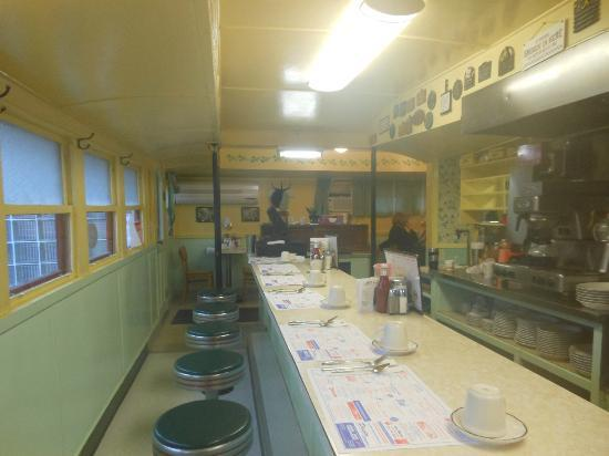 Penn Yan Diner: Counter Area
