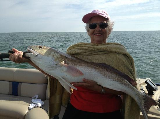 Catch-1 Charters - Capt. Shannon's Fishing Charters: Jan's 42-inch redfish