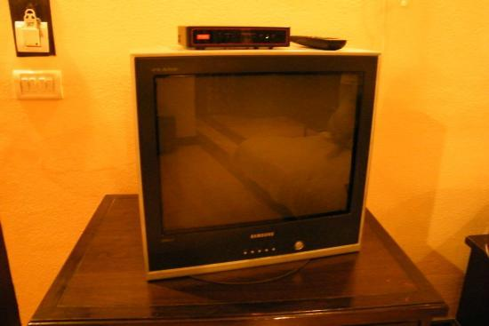 Club Mahindra Manali: Old Fashioned TV