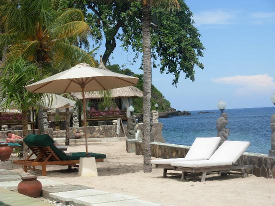 Puri Mas Boutique Resort & Spa: vistas desde las tumbonas