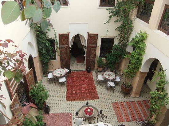 Riad Anabel: Courtyard