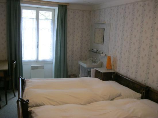 Hotel Glacier Du Rhone: Doppelzimmer