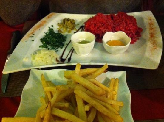 Le Procopio : steak tartare do it yourself