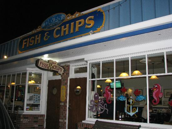 Steveston Heritage Fishing Village: David's Fish and Chips- had a great dinner!
