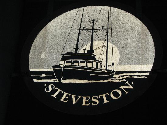 Steveston Heritage Fishing Village: Embedded in stone at memorial