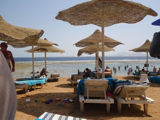 Nubian Village Hotel: view from beach