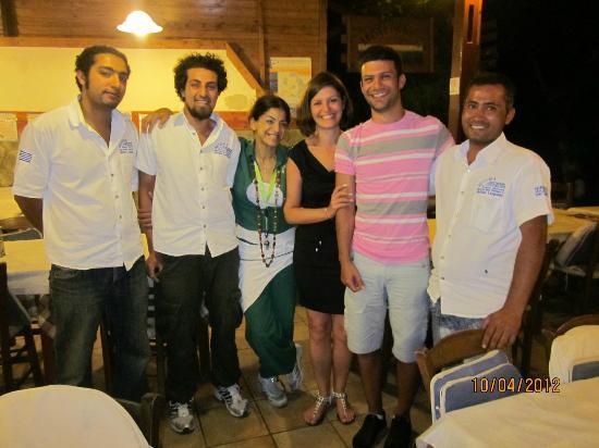 Smaragdi Hotel: Meteora staff